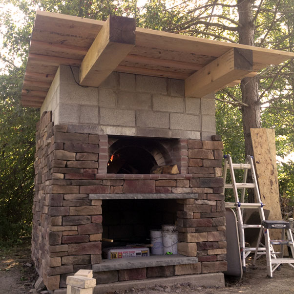 outdoor kitchens pizza ovens north greece landscape in