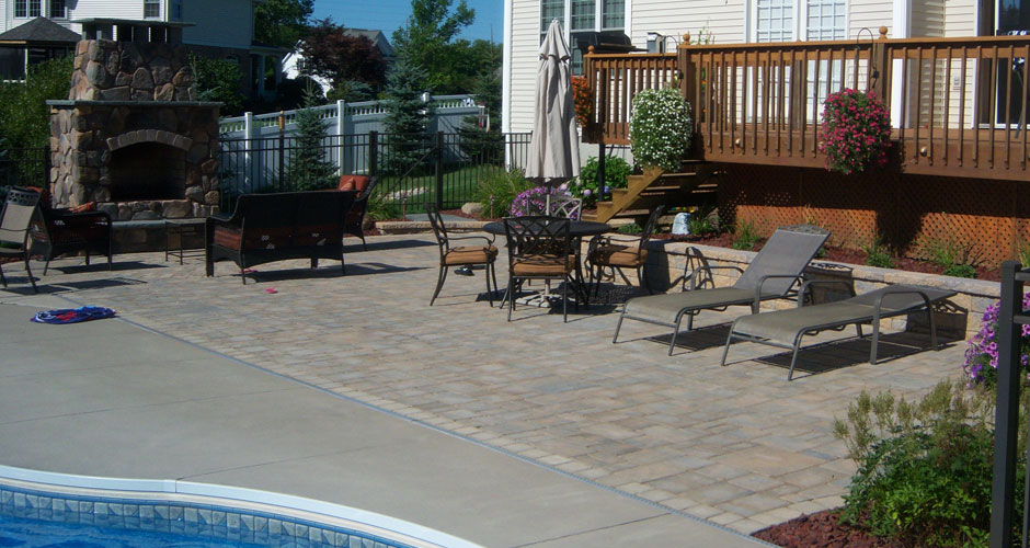 North greece landscape in rochester ny quality for Pool design rochester ny