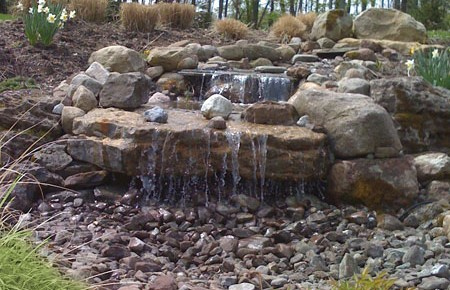 Landscape Design Waterfalls