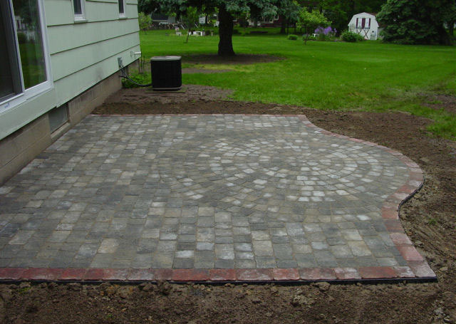 Patio Designs North Greece Landscape In Rochester Ny